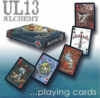 Alchemy UL13 Full Colour Artwork Playing Cards BRAND NEW