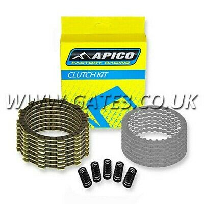 KTM 125EXC EXC 125 1998-2016 Quality Apico Complete Clutch Plate And Spring Kit