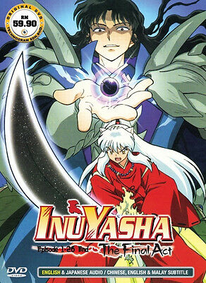Inuyasha: The Final Act (TV 1 - 26 End) DVD - Eng Dubbed + FREE DVD