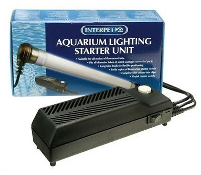 Interpet Light Convertagear Unit Controller Fish Tank Starter Bulb Tube Lamp T8