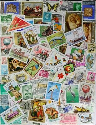 WORLDWIDE very nice collection of over 600 different stamps