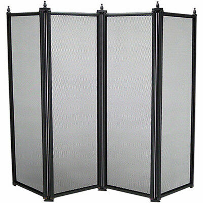 MANOR 2092 4 FOLD REGENCY FIRE SCREEN GUARD 64Cm