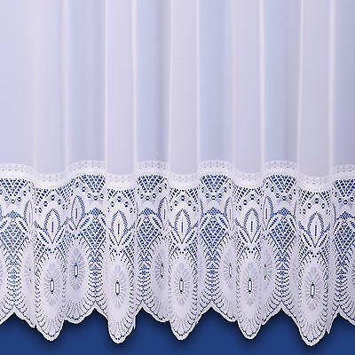 Lilian Lace Base Premium Quality Net Curtain - Sold By The Metre - Free Postage!