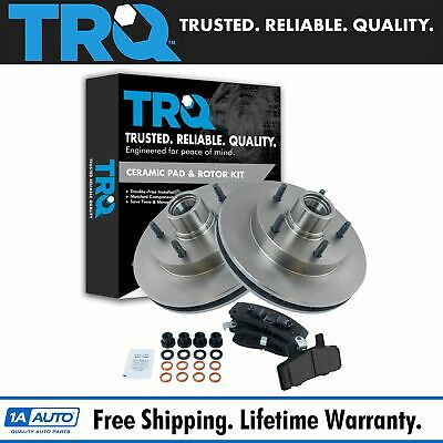 Nakamoto Front Disc Brake Pad & Rotor Kit for 94-99 Ram Truck 2WD
