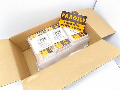 "Case Of 1440 – Fragile Handle With Care 3"" X 5"" Sticker – Peel And Stick"