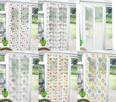 EasyFit Magnetic Snaps closed Bug Net Mesh Door Insect Screen Fly Curtain Mozzi