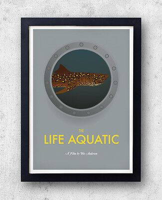 The Life Aquatic with Steve Zissou - Original Poster - Wes Anderson Bill Murray