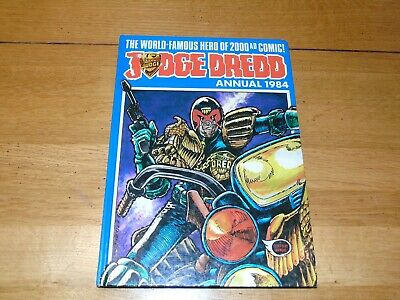 JUDGE DREDD Comic Annual - Year 1984 - UK Fleetway Annual
