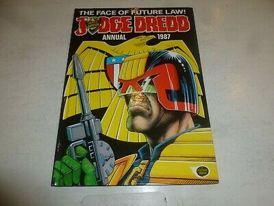 JUDGE DREDD Comic Annual - Year 1987 - UK Fleetway Annual