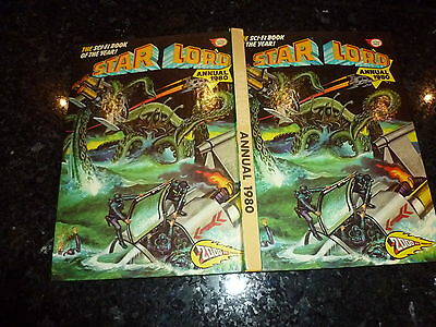 STAR LORD Comic Annual - Year 1980 - UK Fleetway Annual