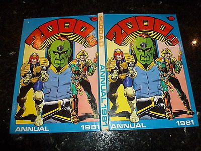 2000 AD Comic Annual - Date 1981 - UK Fleetway Annual