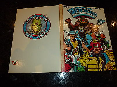 2000 AD Comic Annual - Date 1984 - UK Fleetway Annual