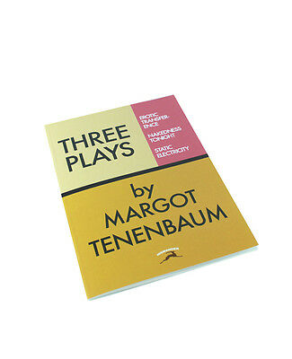 """Three Plays by Margot Tenenbaum"" Lined Notebook! Wes Anderson rushmore royal"