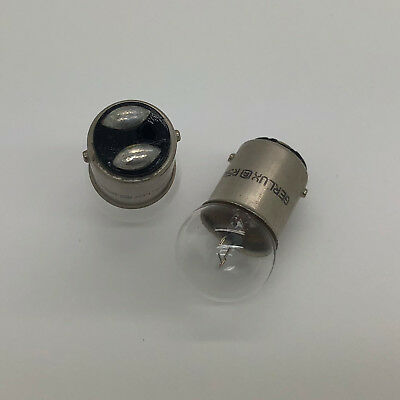 205 6v 5w BA15S 6 Volt Motorcycle Scooter Classic Car Bulbs GENUINE RING SINGLE
