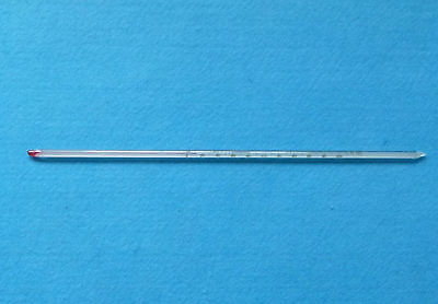Glass Celsius thermometer,200 C,Length 300mm,Laboratory Glassware