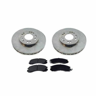 GP//GPX MiVec 10//94-01//95 Front Drilled /& Grooved Brake Disc Mitsubishi FTO 2.0