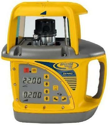 NEW Trimble Spectra Precision GL720 Dual Grade Steep Slope Laser Package