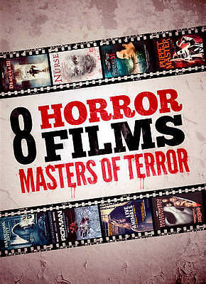 Masters of Terror Collection (DVD, 2012, 2-Disc Set) VG