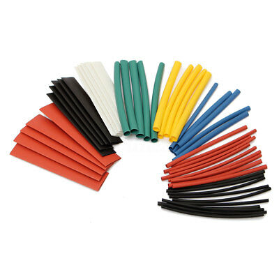 New 100pcs Assortment Ratio 2:1 Heat Shrink Tubing Tube Sleeving Wrap Wire 6Size