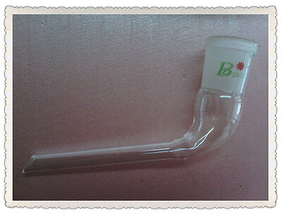 29/32,Distilling Bent adapter,105 Degree Bend,Glass Ground Joint