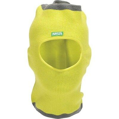 MSA V-Gard WINTER Liner Knit Hat-Cap Cover for Hard Hats 10118418 * NEW *YELLOW
