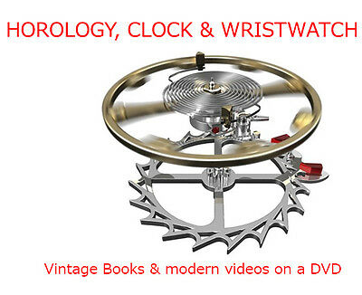 """Best Horology Experience In The World, Books & Videos Dvd. Don""""T Waste Your Time"""