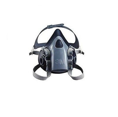 3M Half Facepiece Respirators 7500 Series Reusable Hazmat Costume! NEW