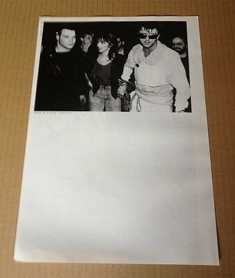 1984 Nena & Steve Strange JAPAN mag photo pinup / clipping cutting