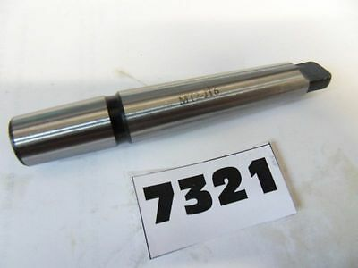 Morse Taper #2 - Jacobs Taper #33 Drill Chuck Arbor **new**