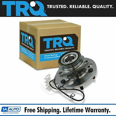 TRQ Front Wheel Hub & Bearing Assembly for Chevy GMC Pickup Truck Tahoe 4WD