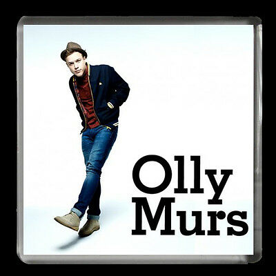 OLLY MURS, Music/Novelty/Pop Star LARGE FRIDGE MAGNET 60mmX 60mm birthday gift