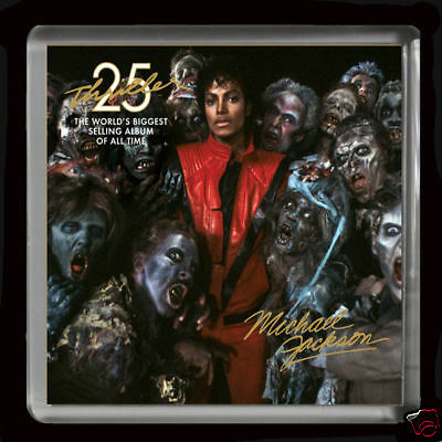 MICHAEL JACKSON 02  LARGE FRIDGE MAGNET 60mmX 60mm