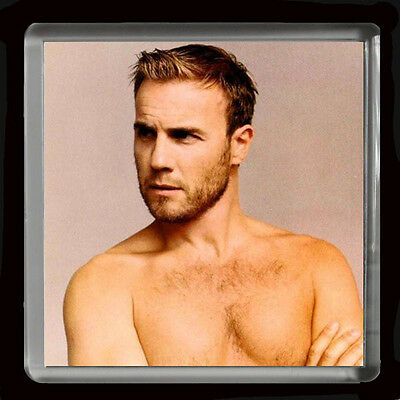 GARY BARLOW  FRIDGE MAGNET 60mmX 60mm