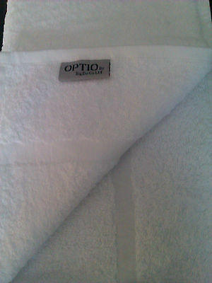 72 White Hotel Soft Quality 500Gsm Hand Towels 100% Cotton  Size 50X90Cm,