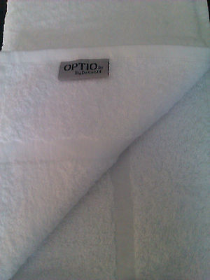 72 White Hotel Soft Quality 500Gsm Hand Towels 100% Cotton  Size 50X90Cm £2