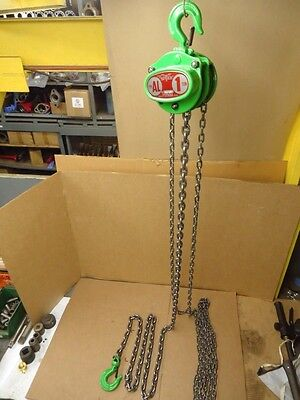 Heavy Duty Industrial Quality 1 TON FUTABA Chain Fall Hoist Type AL 10FT Lift