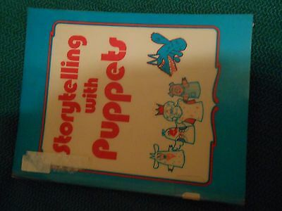 .STORYTELLING WITH PUPPETS, Connie Champlin 1985 293 pages