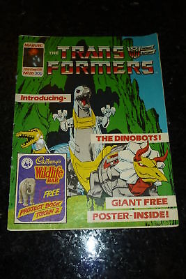 The TRANSFORMERS Comic - No 28 - Date 28/09/1985 - Marvel Comic - NO POSTER
