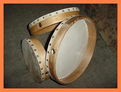 Cp Brand Hand Drums - Set Of Three With Beater - New 2017 Stock - Superb Quality