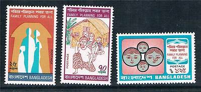 Bangladesh 1974 Family Planning SG 55/7 MNH