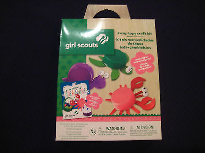 Colorbok Girl Scouts - Swap Tops Craft Kit