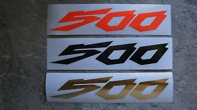 KX500  GRAPHICS STICKERS Swing Arm Decals