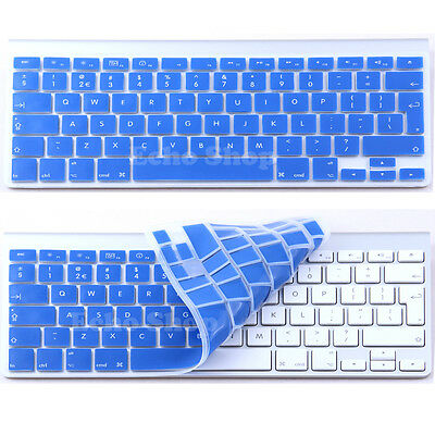 "UK Keyboard Keypad Silicone Cover Protector for Apple 13"" & 15""  Macbook Pro"