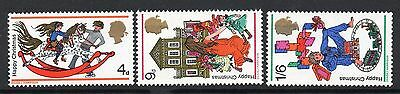 GB = 1968 `Christmas` Set. MNH. SG775/777.