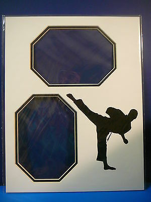 Martial Arts Custom Photo Frame Mat