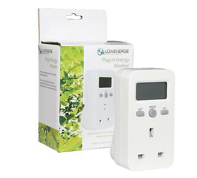 Plug-in Energy Monitor Power Meter Electricity Electric Usage Monitoring Socket