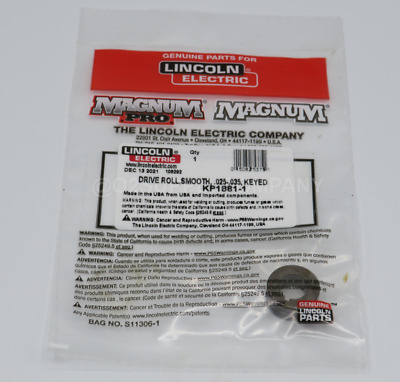 Lincoln KP1881-1 Drive Roller, .023 to .035 Solid Wire.