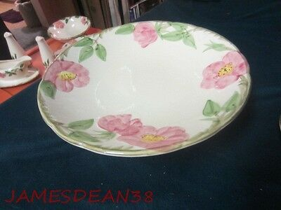FRANCISCAN DESERT ROSE FOOTED COMPOTE