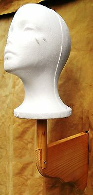 """Native American Indian Headdress & Double Trailer Stand Wall mount 23"""" x 14 x 5"""""""