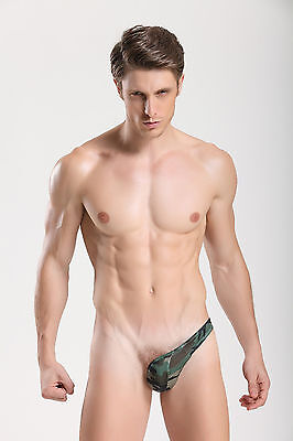 String Latéral militaire vert  plum taille M  sexy Ref 338 gay int